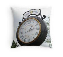 Day Light Savings Time!!! Throw Pillow