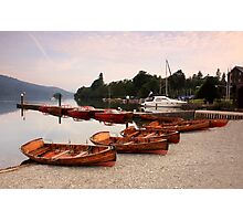 boats on Lake Windermere Photographic Print