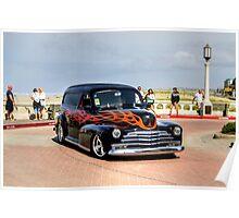 Vintage classic car Poster