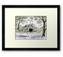 Grandpa's Barn Framed Print