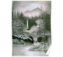 Hidden Falls Poster