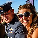 In The StartLine Grandstand, Goodwood Revival, 2015  by MarcW