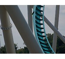 Fury 325 at Carowinds Photographic Print