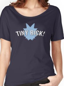 Tiny Rick! Women's Relaxed Fit T-Shirt
