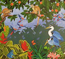 HAPPY RAIN FOREST III by Sergio  Roffe