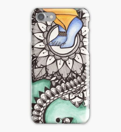 Lotus Feet iPhone Case/Skin