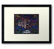 In between impossibles. Framed Print