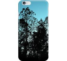 Tree Cluster in Twilight iPhone Case/Skin