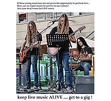 Get To A Gig ! 2 of ? Photographic Print