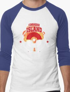 Pokemon Cinnabar Island Men's Baseball ¾ T-Shirt