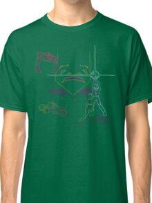 In A Grid Far, Far Away Classic T-Shirt
