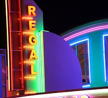 Regal Theater by searchlight