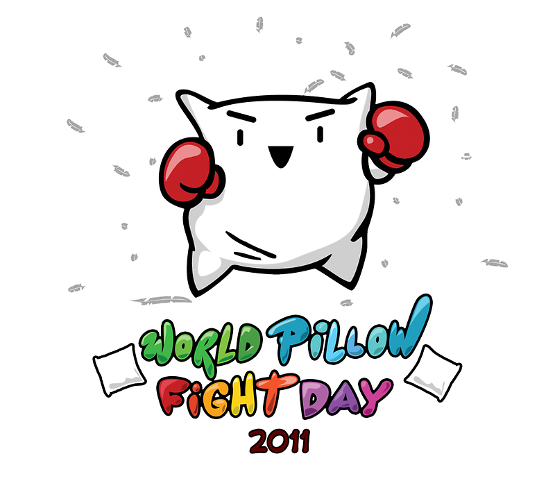 World Pillow Fight Day by quickandshirty