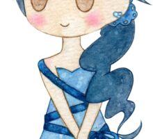 Ribbon Girl Sticker