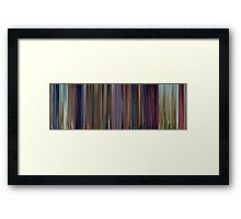 Moviebarcode: Dumbo (1941) Framed Print