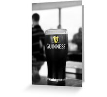 The Best Guinness Ever Greeting Card