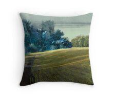 Long Shadows Parklands Throw Pillow