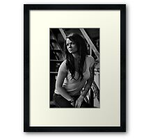 Portrait of Jackal Framed Print