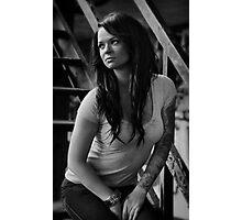 Portrait of Jackal Photographic Print