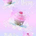 Happy Birthday, Cupcake by Denise Abé