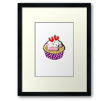 Cute Little Cup Cake Framed Print