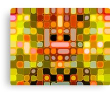 Orange Lights Canvas Print