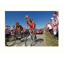 Lance Armstrong Art Print