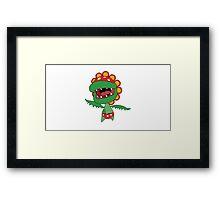 Petey Piranha Framed Print