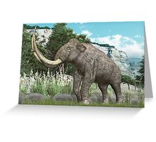 Columbian Mammoth Greeting Card
