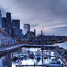 Bell Harbor Marina, Seattle by Anne McKinnell