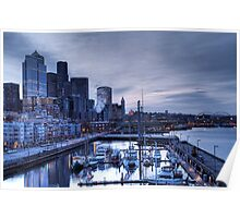 Bell Harbor Marina, Seattle Poster