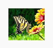 Yellow Butterfly on a flower T-Shirt