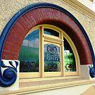 Windows of Koroit Hotel, Vic. by EdsMum