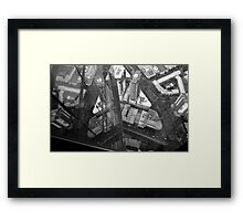The View Down from Eureka Tower Framed Print