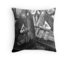 The View Down from Eureka Tower Throw Pillow