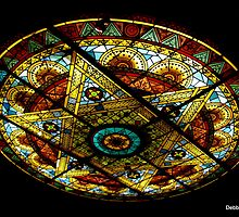 Stained Glass Ceiling Art by Debbie Robbins
