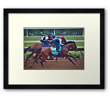 American Pharoah- Triple Crown Winner Framed Print