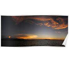 Thunderheads over Dampier Archipelago Poster
