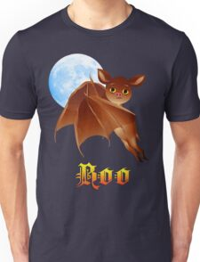 Sweet Halloween Boo Bat Unisex T-Shirt