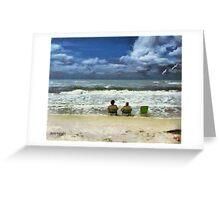 Lifes a Beach  Greeting Card