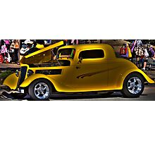 Dick Tracy Car Photographic Print