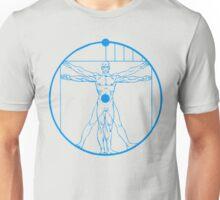 Vitruvian Mr. Manhattan  Unisex T-Shirt