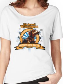 7th Annual Wilmington Wiener Dog Races Women's Relaxed Fit T-Shirt