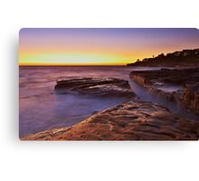 Lurline Bay Sunrise Canvas Print