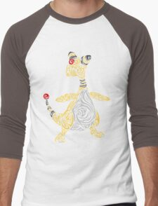 Ampharos Men's Baseball ¾ T-Shirt