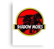 SHADOW MOSES Canvas Print