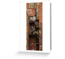 Graffiti Wall.2 Greeting Card