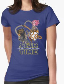 Star Time - The Adventure Awakens Womens Fitted T-Shirt