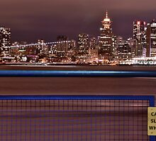 Vancouver And Seabus Streaks by Andrew Lapierre