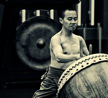Taiwanese Drum Troupe N.4 by dennis william gaylor